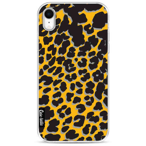 Casetastic Softcover Apple iPhone XR - Leopard Print Yellow
