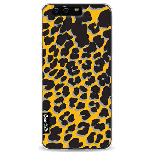 Casetastic Softcover Huawei P10 - Leopard Print Yellow