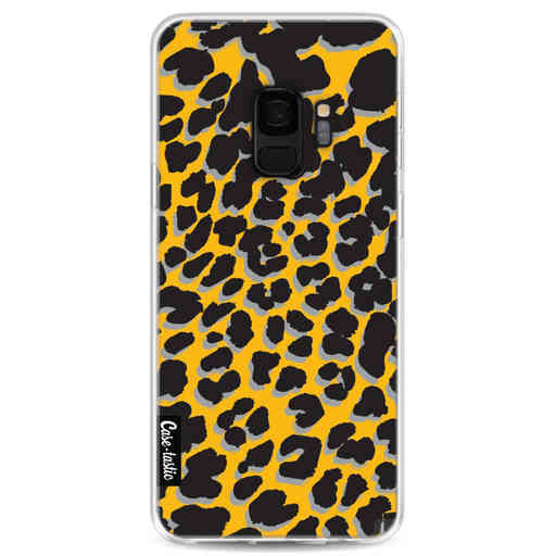 Casetastic Softcover Samsung Galaxy S9 - Leopard Print Yellow