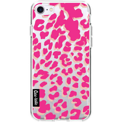 Casetastic Softcover Apple iPhone 7 / 8 / SE (2020) - Leopard Print Pink