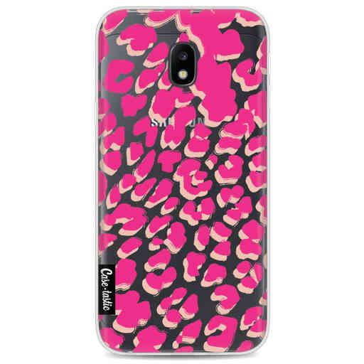 Casetastic Softcover Samsung Galaxy J3 (2017) - Leopard Print Pink