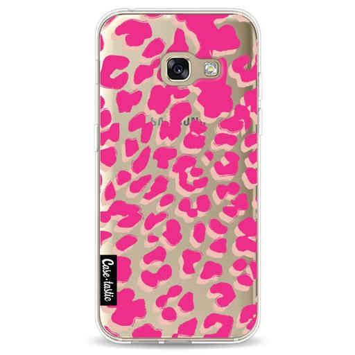 Casetastic Softcover Samsung Galaxy A3 (2017)  - Leopard Print Pink