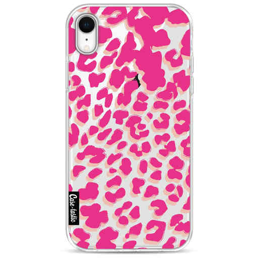 Casetastic Softcover Apple iPhone XR - Leopard Print Pink