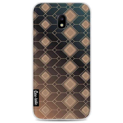 Casetastic Softcover Samsung Galaxy J3 (2017) - Abstract Diamonds