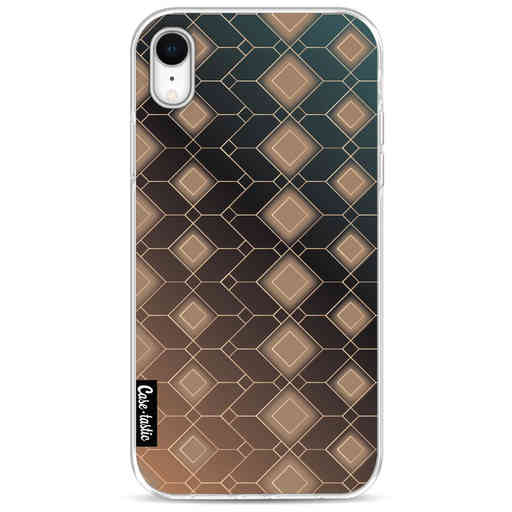 Casetastic Softcover Apple iPhone XR - Abstract Diamonds