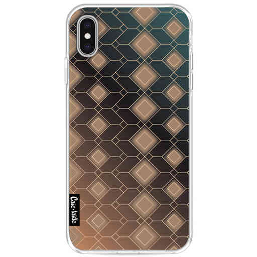 Casetastic Softcover Apple iPhone XS Max - Abstract Diamonds