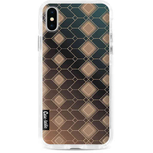 Casetastic Dual Snap Case Apple iPhone X / XS - Abstract Diamonds
