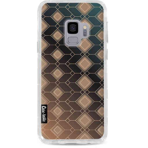 Casetastic Dual Snap Case Samsung Galaxy S9  - Abstract Diamonds