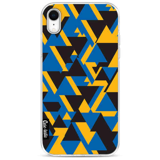 Casetastic Softcover Apple iPhone XR - Mixed Triangles