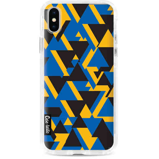 Casetastic Dual Snap Case Apple iPhone X / XS - Mixed Triangles