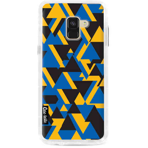 Casetastic Dual Snap Case Samsung Galaxy A8 (2018) - Mixed Triangles