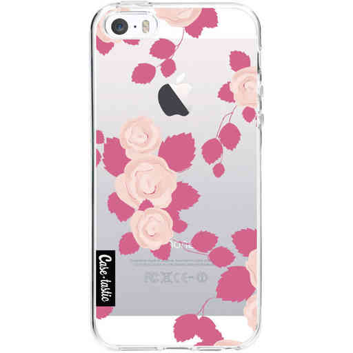 Casetastic Softcover Apple iPhone 5 / 5s / SE - Pink Roses