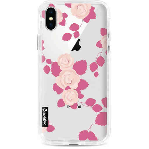 Casetastic Dual Snap Case Apple iPhone X / XS - Pink Roses