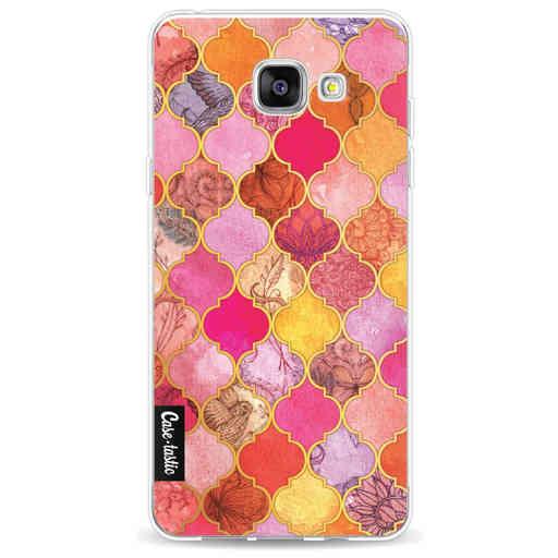 Casetastic Softcover Samsung Galaxy A5 (2016) - Pink Moroccan Tiles