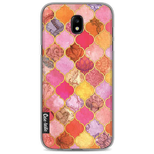 Casetastic Softcover Samsung Galaxy J5 (2017) - Pink Moroccan Tiles