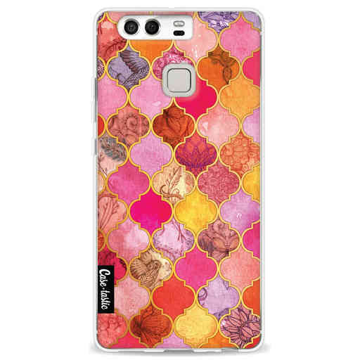Casetastic Softcover Huawei P9 - Pink Moroccan Tiles
