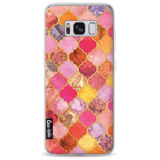 Casetastic Softcover Samsung Galaxy S8 - Pink Moroccan Tiles