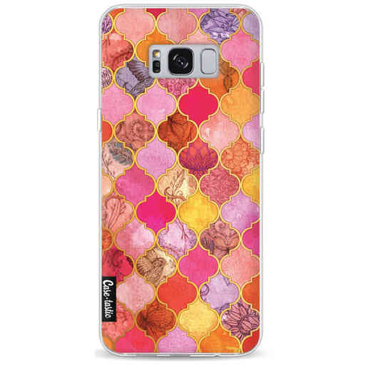 Casetastic Softcover Samsung Galaxy S8 Plus - Pink Moroccan Tiles