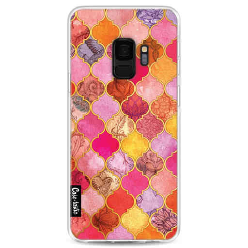Casetastic Softcover Samsung Galaxy S9 - Pink Moroccan Tiles