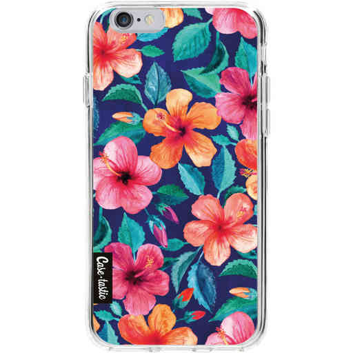 Casetastic Softcover Apple iPhone 6 / 6s - Colorful Hibiscus