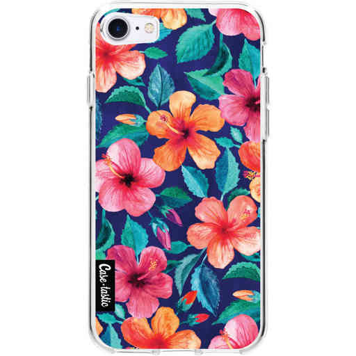 Casetastic Softcover Apple iPhone 7 / 8 / SE (2020) - Colorful Hibiscus