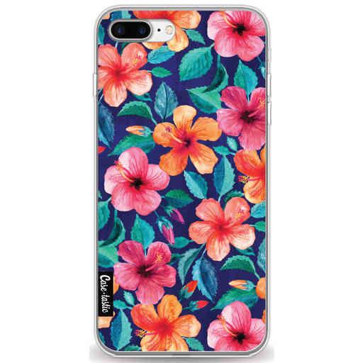 Casetastic Softcover Apple iPhone 7 Plus / 8 Plus - Colorful Hibiscus