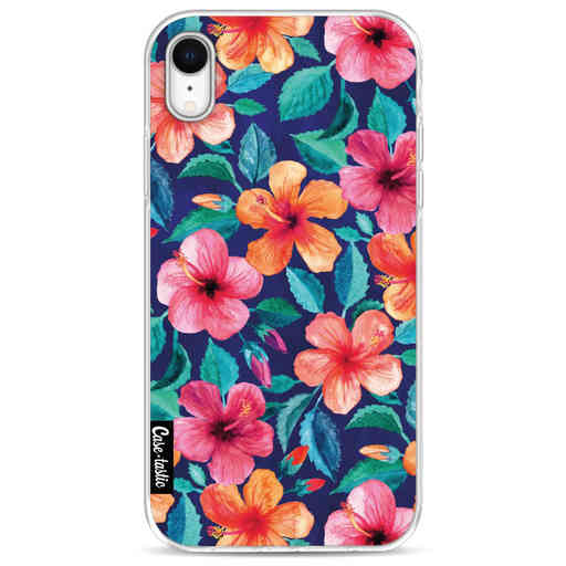 Casetastic Softcover Apple iPhone XR - Colorful Hibiscus