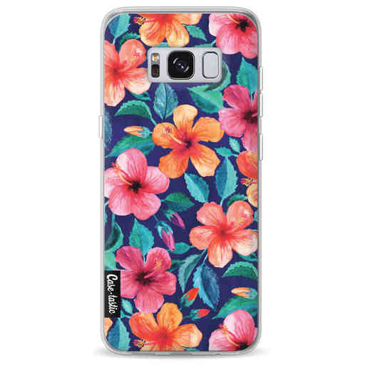 Casetastic Softcover Samsung Galaxy S8 - Colorful Hibiscus