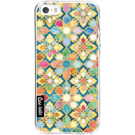 Casetastic Softcover Apple iPhone 5 / 5s / SE - Gilded Moroccan Mosaic Tiles