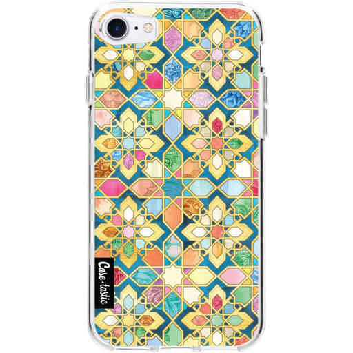 Casetastic Softcover Apple iPhone 7 / 8 / SE (2020) - Gilded Moroccan Mosaic Tiles