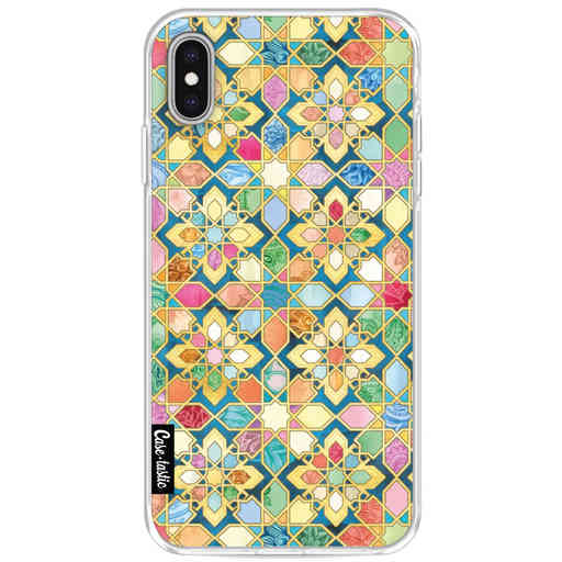 Casetastic Softcover Apple iPhone XS Max - Gilded Moroccan Mosaic Tiles