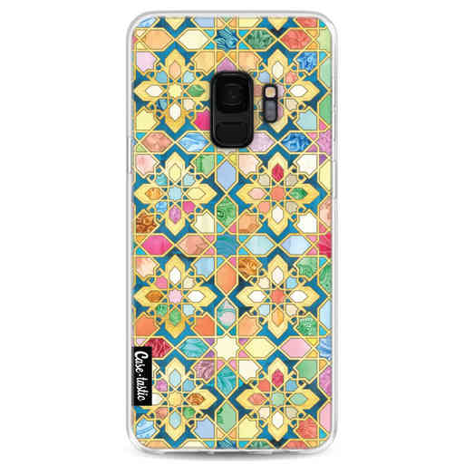 Casetastic Softcover Samsung Galaxy S9 - Gilded Moroccan Mosaic Tiles