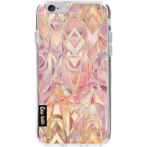 Casetastic Softcover Apple iPhone 6 / 6s - Coral and Amethyst Art
