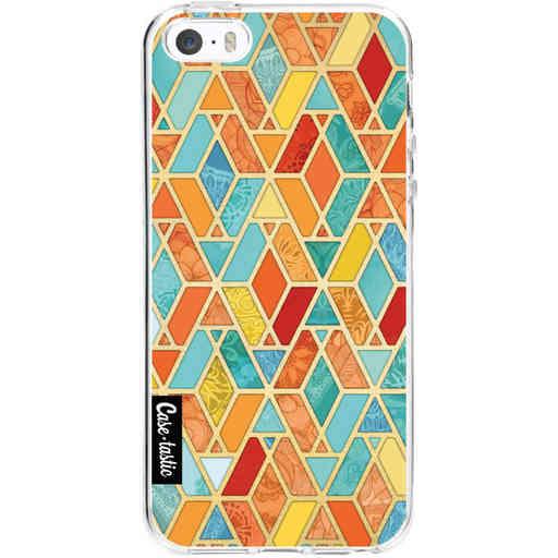 Casetastic Softcover Apple iPhone 5 / 5s / SE - Geometric Tile Pattern