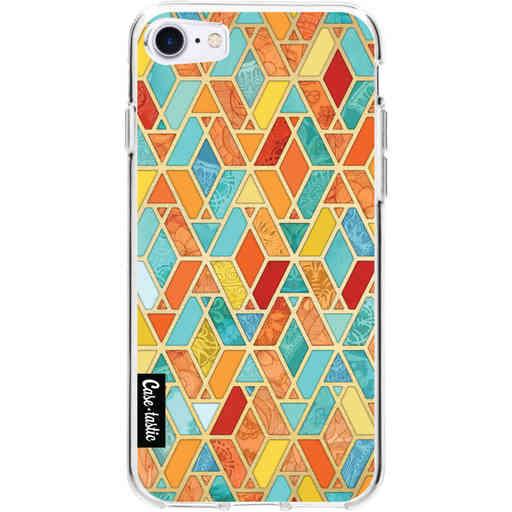 Casetastic Softcover Apple iPhone 7 / 8 / SE (2020) - Geometric Tile Pattern