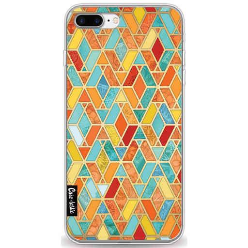 Casetastic Softcover Apple iPhone 7 Plus / 8 Plus - Geometric Tile Pattern