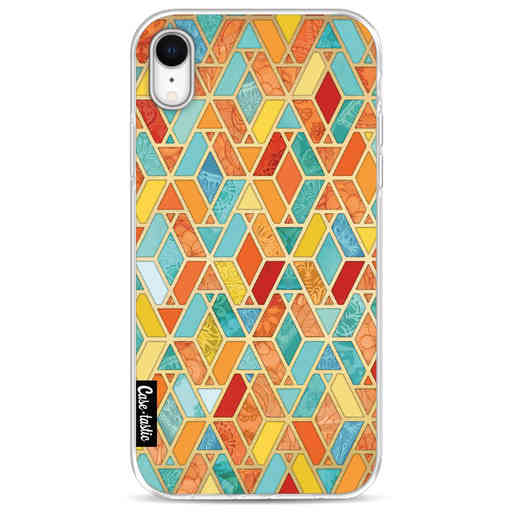 Casetastic Softcover Apple iPhone XR - Geometric Tile Pattern