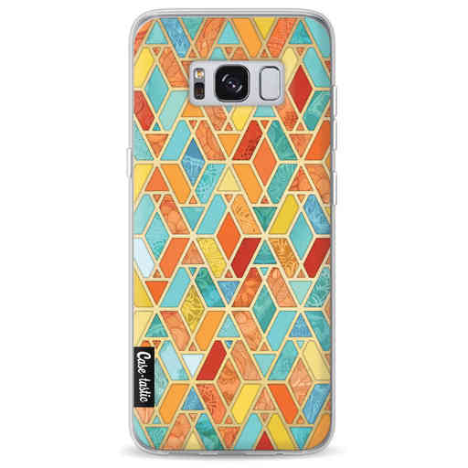 Casetastic Softcover Samsung Galaxy S8 - Geometric Tile Pattern