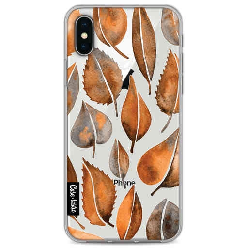 Casetastic Softcover Apple iPhone X / XS - Cascading Leaves