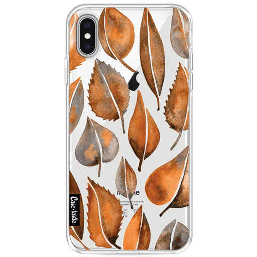 Casetastic Softcover Apple iPhone XS Max - Cascading Leaves
