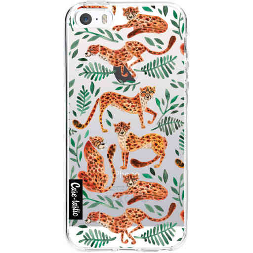 Casetastic Softcover Apple iPhone 5 / 5s / SE - Cheetah Life