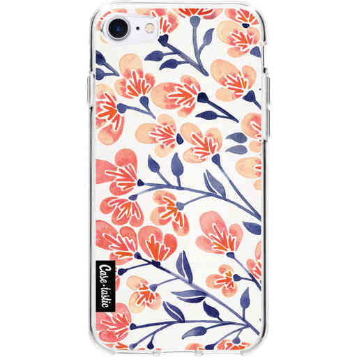 Casetastic Softcover Apple iPhone 7 / 8 / SE (2020) - Cherry Blossoms Peach