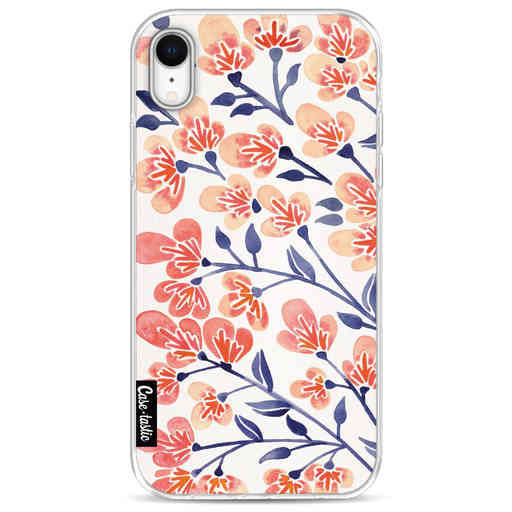 Casetastic Softcover Apple iPhone XR - Cherry Blossoms Peach