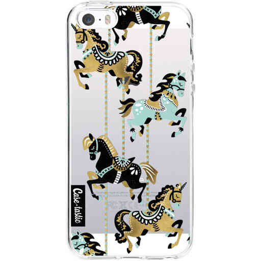 Casetastic Softcover Apple iPhone 5 / 5s / SE - Carousel Horses