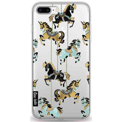 Casetastic Softcover Apple iPhone 7 Plus / 8 Plus - Carousel Horses