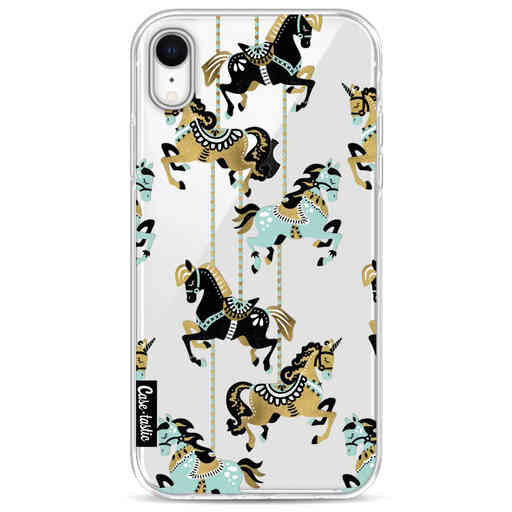 Casetastic Softcover Apple iPhone XR - Carousel Horses
