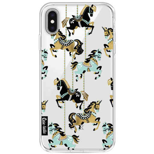 Casetastic Softcover Apple iPhone XS Max - Carousel Horses
