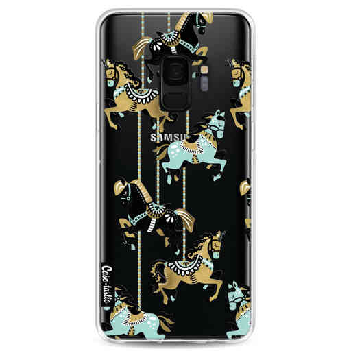 Casetastic Softcover Samsung Galaxy S9 - Carousel Horses
