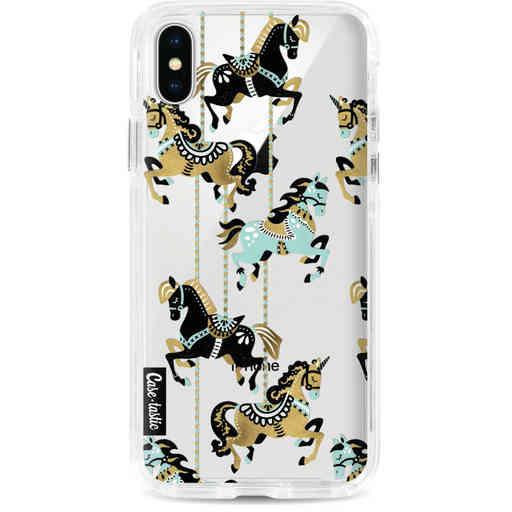 Casetastic Dual Snap Case Apple iPhone X / XS - Carousel Horses