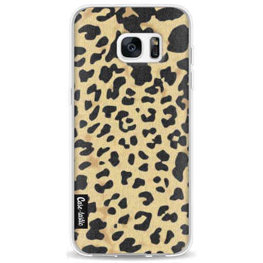 Casetastic Softcover Samsung Galaxy S7 Edge - Leopard Print Sand